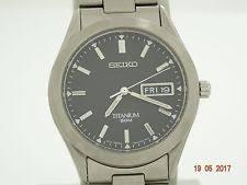 mens seiko titanium watches seiko men s titanium watch sgg599p1 rrp £169