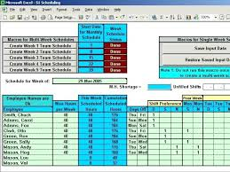 microsoft excel scheduling template schedule layout excel excel schedule spreadsheet schedule templates