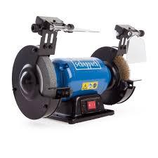 bench grinder wheel. scheppach sm150lb twin bench grinder with wire brush wheel 150mm 400w 240v
