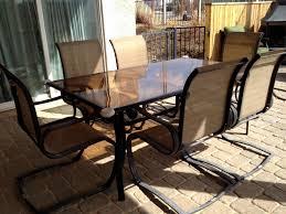 hampton bay patio chairs win info rh win info winston patio table glass replacement hexagon patio table glass