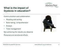 dealing dyslexia in education abilitynet webinar  dealing dyslexia in education abilitynet webinar 6 2014