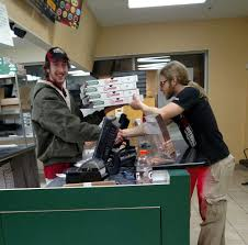 candid of a hard working employee yelp photo of papa john s pizza worcester ma united states candid of a