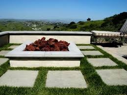 concrete patio with square fire pit. Full Size Of Simple Brick Fire Pit How To Build A Square With Concrete Patio