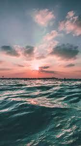 nf43-sunset-sea-sky-ocean-summer-green ...