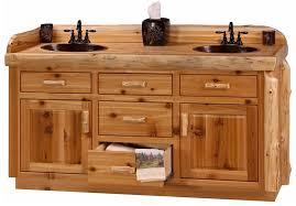 Bathroom Stylish Rustic Log Vanity 36 With Vanities Remodel Awesome