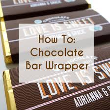 Free Printable Candy Bar Wrappers For Wedding Favors A