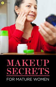 when you turn over 50 you need to know the right makeup application so as