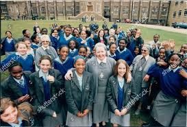 Sister Bernadette Headteacher Virgo Fidelis Comprehensive School Editorial  Stock Photo - Stock Image