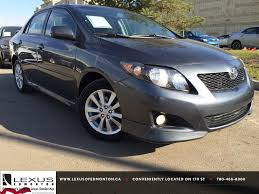 Pre Owned Grey 2010 Toyota Corolla Auto S Review | Innisfail ...