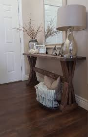 Pallet Entry Table Rustic Farmhouse Entryway Table By Modernrefinement On Etsy For
