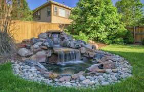 Small Picture 53 Backyard Garden Waterfalls Pictures of Designs Designing Idea