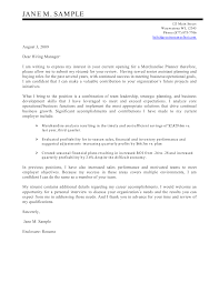 Examples Cover Letter For Resume Resume Templates Free And