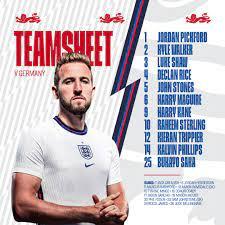 التشكيل الرسمى لقمة إنجلترا ضد ألمانيا فى ثمن نهائى يورو 2020 - اليوم السابع