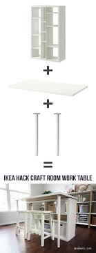 craft room lighting. ikea hack craft room work table lighting r
