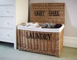Lined Wicker Laundry Baskets Best 25 Wicker Laundry Hamper Ideas On  Pinterest Guinea Pig