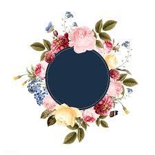 Floral Logo Design Free Download Download Premium Vector Of Blank Floral Frame Card