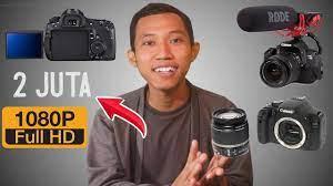 😮 Kamera VLOG DSLR Murah buat Youtuber Pemula !! Canon EOS 700D yaa gak  murah-murah bgt sih ... - YouTube