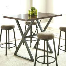 industrial counter height table. Industrial Counter Height Table Sophisticated Modern Console Dining And Kitchen .
