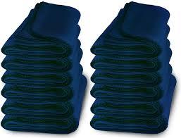 60 pack of bulk soft fleece blankets 50