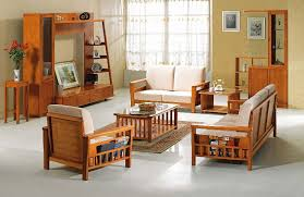 wood living room furniture images