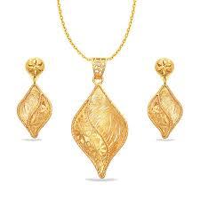 chetasi sankalp gold pendant set