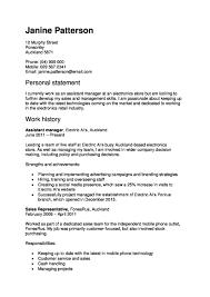 Resume How To Begin A Resume Opening Sentence For Resume Proper