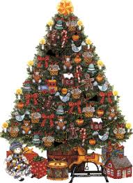pin Christmas Tree clipart old fashioned #1