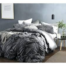 gray duvet cover knots handcrafted texture ties duvet cover dark gray gray quilt covers gray duvet cover