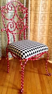 custom painted circus themed chair
