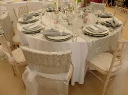 wonderful circle table runner 43 circle table runner sequin chair veils and full size