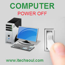 Turn Off Computer Turn On Or Off The Computer Daily Is It Necessary Or Not Itechsoul