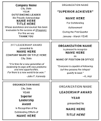 Words For Recognition Awards Tosya Magdalene Project Org