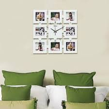 photo frame wall clocks from hiba