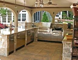 outdoor kitchen ideas with pool outdoor kitchens