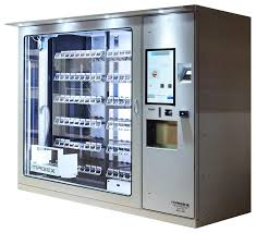 Kiosk Vending Machine Delectable Alps Kiosks Premier Custom Vending Automated Retailing System