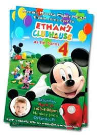 Make Your Own Mickey Mouse Invitations Mickey Mouse Invitations Online With Party Invitations Cool Mickey