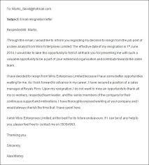 Formal Resignation Letter Example Cool Formal Job Resignation Letter Sample Weareeachother