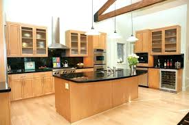 maple kitchen cabinets with granite countertops light maple cabinets modern kitchen with dark granite and light maple kitchen cabinets with granite
