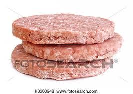 hamburger patty clipart. Wonderful Patty Three Frozen Hamburger Patties Isolated On White Background On Patty Clipart B