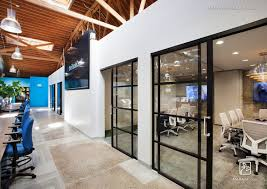 modern office door. Open Office Doors. Tremendous Black Sliding Glass Doors The Trade Desk. Doors, Modern Door