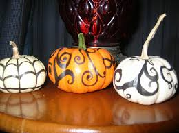 Scary Pumpkin Painting Decoration Extraordinary Accessories For Halloween Front Porch