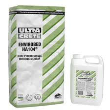envirobed ha104 high performance bedding mortar 20 kg bag