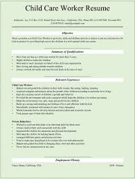 Childcare Resume Child Care Provider Resume Template Resume Builder Child Care 3