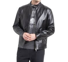 givenchy men classic leather jacket1