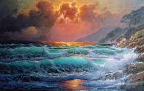 powerful seascapes paintings by alexander dzigurski ii his paintings with their rich palette of color attract art collectors from all over the country