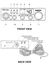 uniden cb radio mic wiring wirdig cb radio microphone wiring diagram