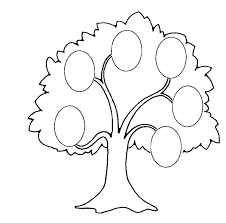 Drawing A Family Tree Template Family Tree Template Clipart Black And White