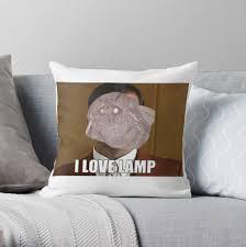 2018 Moth Meme Anchorman I Love Lamp Throw Pillows By Retro51536