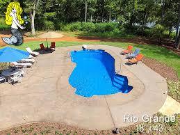rio grande fiberglass pool