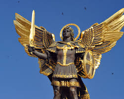 Image result for Saint Michael's flaming sword